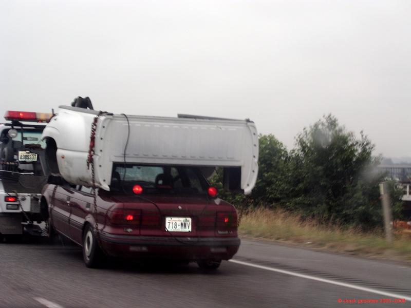 Seen on Interstate 5