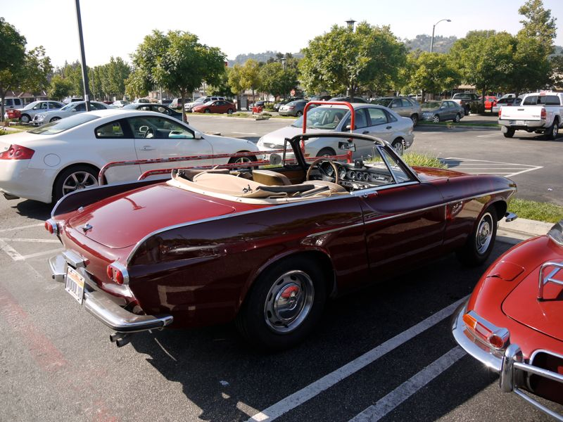 car photo s of the day more of that chop topped volvo p1800. Black Bedroom Furniture Sets. Home Design Ideas